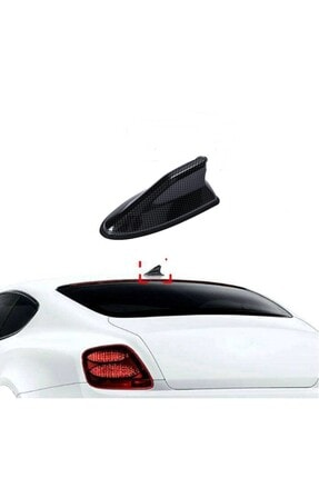 Sevenyol Honda Crv 4 12-16 Uyumlu Karbon Köpek Balığı Shark Anten 0