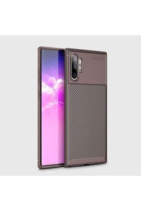 Huawei Note 10 Plus Kılıf Sert Korumalı Zırh Karbon Fiber Kapak 0