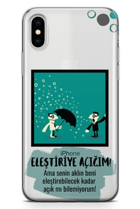 Lopard Apple Iphone X Kılıf Eleştriye Açığım Arka Kapak Koruma Desenli Full Koruyucu 0