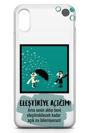 Lopard Apple Iphone X Kılıf Eleştriye Açığım Arka Kapak Koruma Desenli Full Koruyucu 1