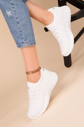 Soho Exclusive Kadın Beyaz Sneaker 15226 1