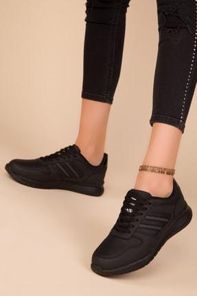 Soho Exclusive Siyah-Siyah Kadın Sneaker 15225 0