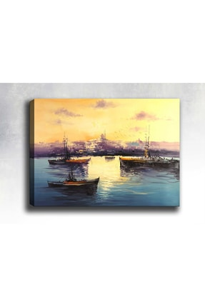 Syronix Istanbul Kanvas Tablo 45 X 30cm Sb-16006 0