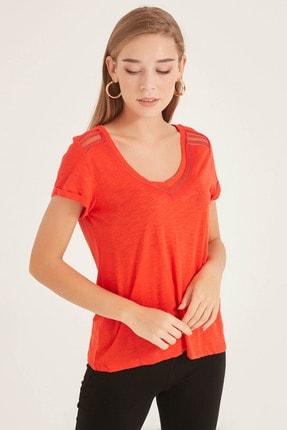 Kadın Kırmızı T-Shirt 20250220099