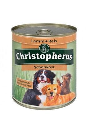 Christopherus Kuzu Ve Pirinçli Glutensiz Köpek Konservesi 800 Gr*2 0