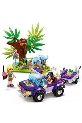 LEGO 41421 Friends Yavru Fil Kurtarma Operasyonu Oyun Seti 1
