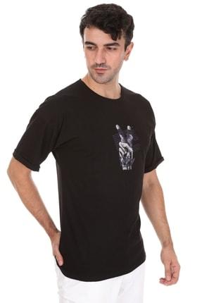 Millionaire Unisex Siyah Victory Oversize T-shirt 2