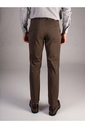 Dufy Kahve Büyük Beden Düz Erkek Pantolon - Battal 2