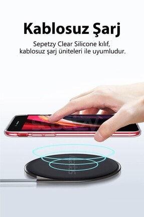 sepetzy Samsung Galaxy S20 Plus Şeffaf Kılıf Clear Silikon Kapak 1
