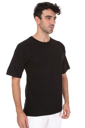 Millionaire Siyah Oversize T-shirt 2