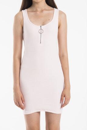 Paris Butik Kadın Pembe Elbise 1