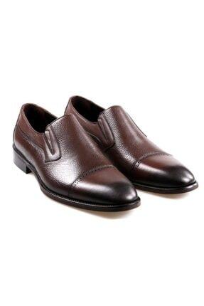 JAMES FRANCO 16564 Kahve Klasik Erkek Deri Ayakkabı 3