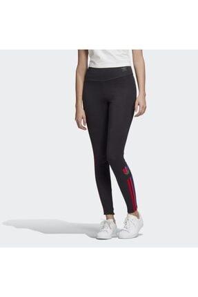 adidas Kadın Siyah  Adicolor 3d Trefoil Leggings Tayt 0