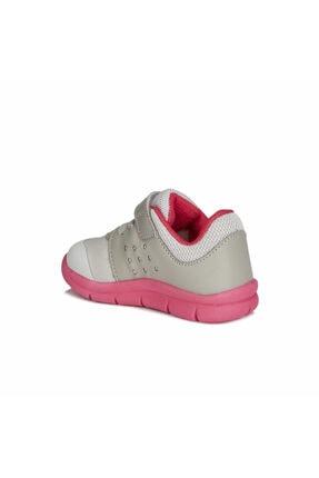 Vicco Kız Çocuk Gri Fuşya Mario  Spor Ayakkabı 2