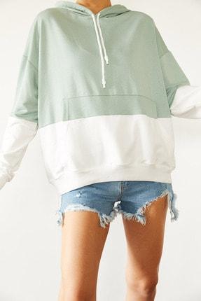Xena Parçalı Sweatshirt 0YZK8-10531-58 1