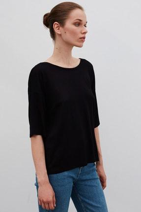 İpekyol Kadın Siyah Basic T-Shirt 1