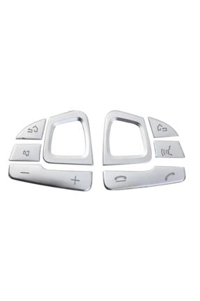 Yekoto Mercedes E W213 Uyumlu Krom Direksiyon Tuş Takımı 0
