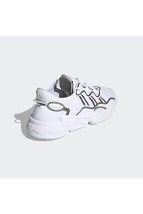 adidas Erkek Beyaz Ozweego Günlük Spor Ayakkabı 4