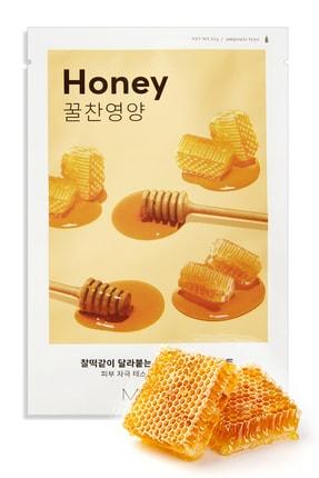 Missha Bal İçeren Besleyici Yaprak Maske Airy Fit Sheet Mask (Honey) 8809581454811 0