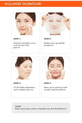 Missha Bal İçeren Besleyici Yaprak Maske Airy Fit Sheet Mask (Honey) 8809581454811 4