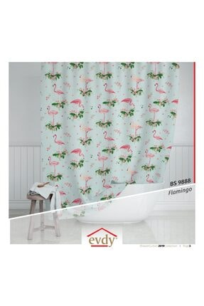 Evdy Flamingo Model Çamaşır Makinesi Örtüsü 9888 1