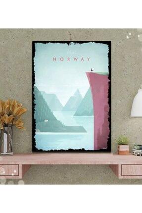 Tontilika Norveç Minimalist Tasarım Tablo 50x70 cm 0