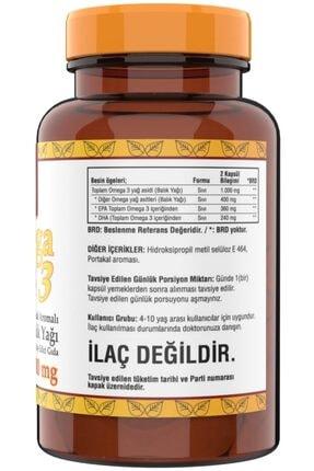 Ncs ® Omega 3 Balık Yağı 500 Mg Epa Dha 102 Softgel Portakal Aromalı Çocuklara Özel 1