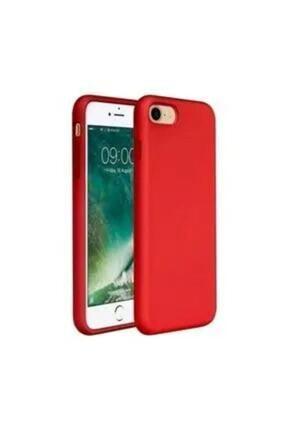 Mobilşube Iphone 7 -8 Içi Kadife Lansman Silikon Kılıf Kırmızı 0