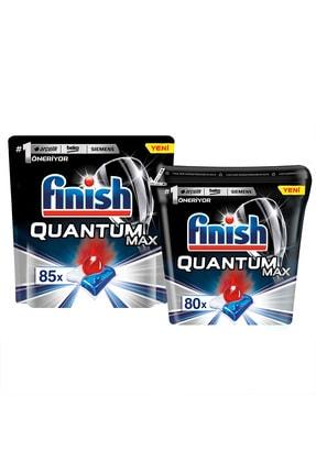 Finish Quantum Max 85 Kapsül+Özel Saklama Kutusunda Quantum Max 80 Kapsül Bulaşık Makinesi Deterjanı 0