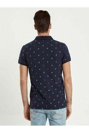 Ltb Erkek  Lacivert Polo Yaka T-Shirt 012198435060890000 1