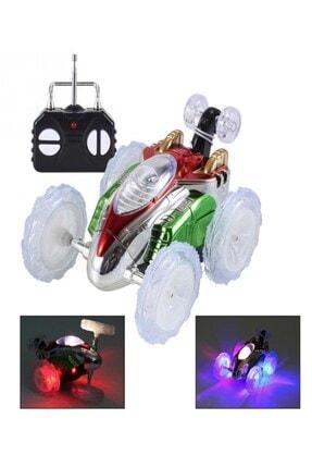 RoseRoi Dasher Uzaktan Kumandalı Takla Atan Işıklı Çılgın Akrobat Oyuncak Araba 1