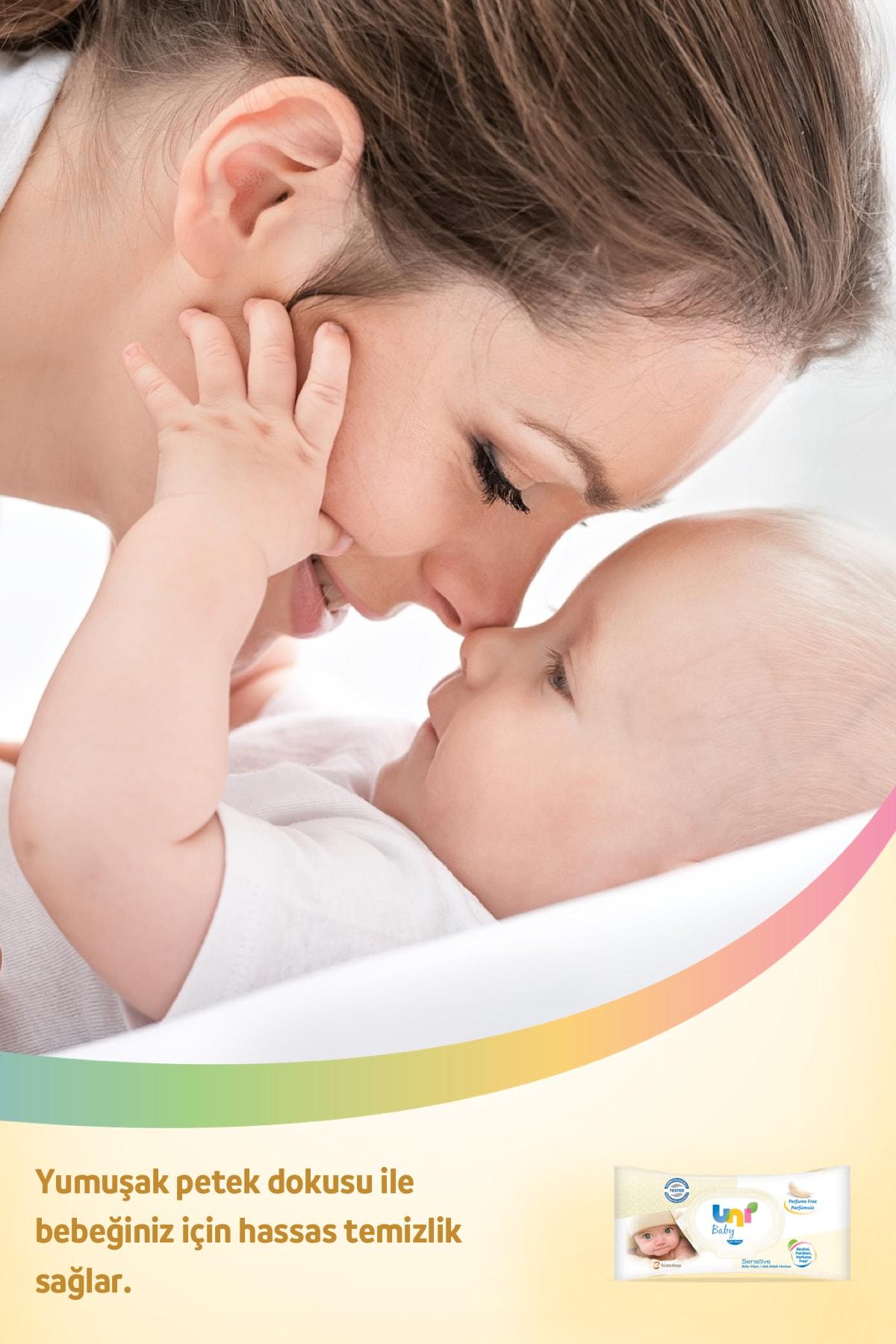Uni Baby Sensitive Islak Havlu - 12'li Fırsat Paketi 3