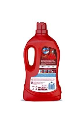 Bingo Renkli Sıvı Bakım Çamaşır Deterjanı 4 lt 2'li 2