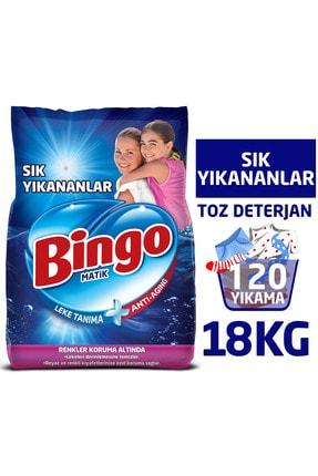 Bingo Matik Toz Çamaşır Deterjanı 9 kg Ekonomi Paketi 2'li 0