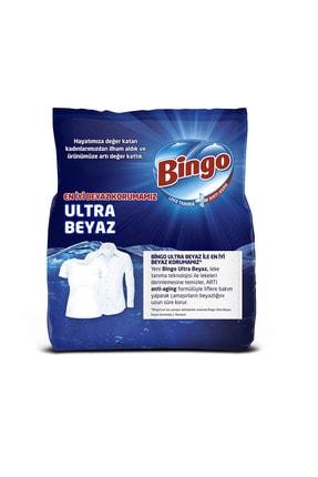 Bingo Matik Toz Çamaşır Deterjanı 4 kg Ultra Beyaz 2'li 2