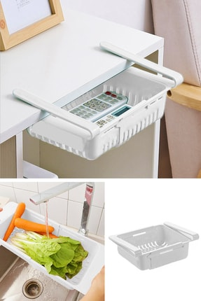 Helen's Home Ayarlanabilir Buzdolabı Dolap Içi Düzenleyici Sepet Çekmece Raf Organizeri 1