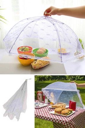 Helen's Home Gıda Koruma Şemsiyesi Sinek Koruyucu Tül Cibinlik 0