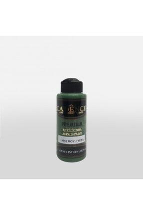 Kimyacınız 8014 Kına Yeşili Akrilik Boya 120 Ml 0