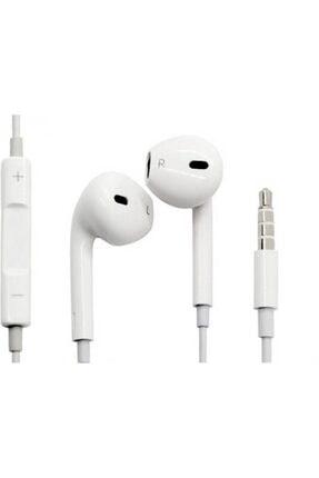 POLYGOLD Beyaz Earpods Iphone 5-5s-6-6s-6s Plus Uyumlu 3,5 Mm Jack Girişli Kulakiçi Kulaklık 1