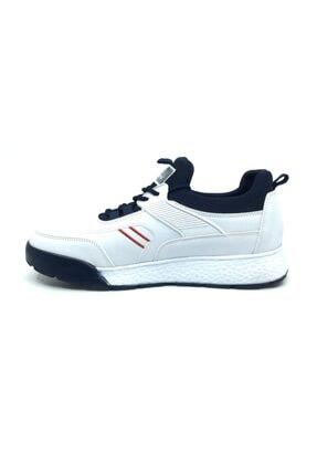Wickers Erkek Beyaz Ortopedik Günlük Mevsimlik Spor Ayakkabı 2