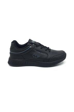 Wickers Erkek  Siyah Ortopedik Günlük Mevsimlik Spor Ayakkabı 40-44 1