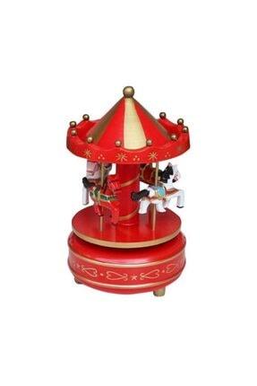 Köstebek Atlı Karınca Müzik Kutusu Kırmızı 1