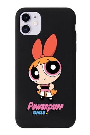 POFHİ Galaxy A20s Blossom Powerpuff Girls Siyah Premium Telefon Kılıfı 0