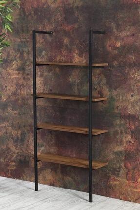 mekare Duvar Rafı Kitaplık Raf Metal Dolap Kitaplık Ofis 1