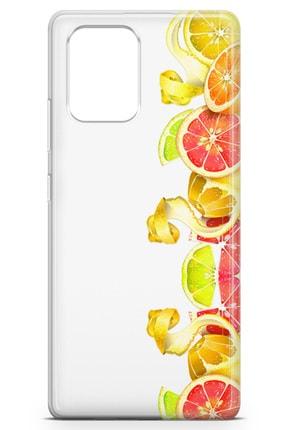 Lopard Samsung Galaxy S10 Lite Kılıf Turunçgiller Arka Kapak Koruma Desenli Full Koruyucu 1