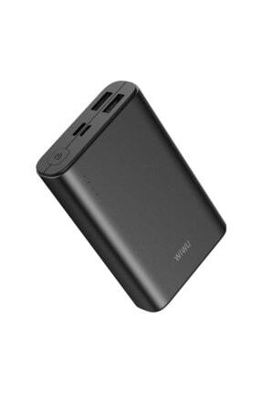 WIWU Samsung Galaxy J6 Için Powerbank 10000 Mah Taşınabilir Hızlı Şarj Cihazı 1