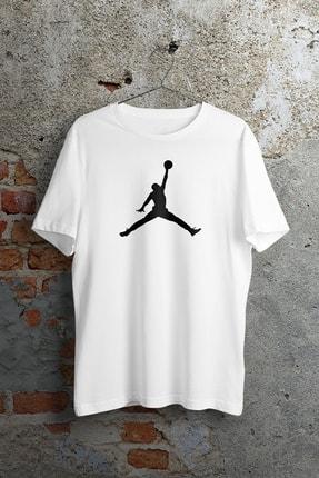 Apex Moda Jordan Original Dunk Beyaz Unisex Tshirt 0