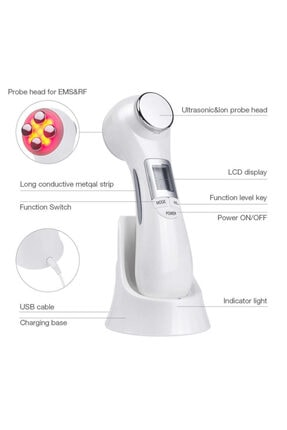 TheBeautyStore Yüz Güzellik Aleti Rf Mezoterapi Cihazı Cilt Sıkılaştırıcı Şekillendirici Masaj Makinesi 2
