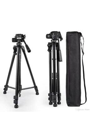 Mobildizayn Profesyonel Kamera Tripod 140 cm Telefon Tutucu Tripot Büyük 3366 0