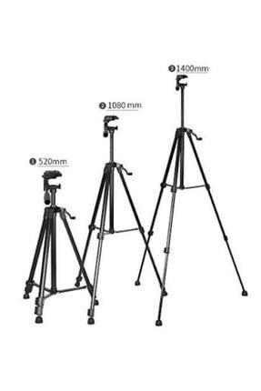 Mobildizayn Profesyonel Kamera Tripod 140 cm Telefon Tutucu Tripot Büyük 3366 1